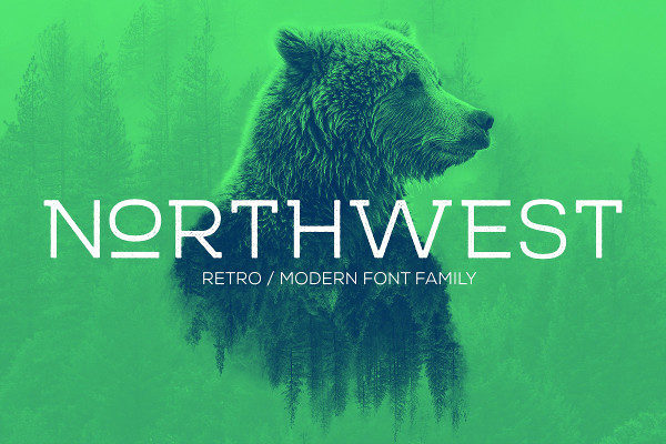 Northwest Modern Font Family