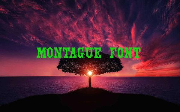 Montague Font Free