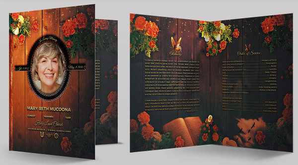 Mothers Booklet Photoshop Template