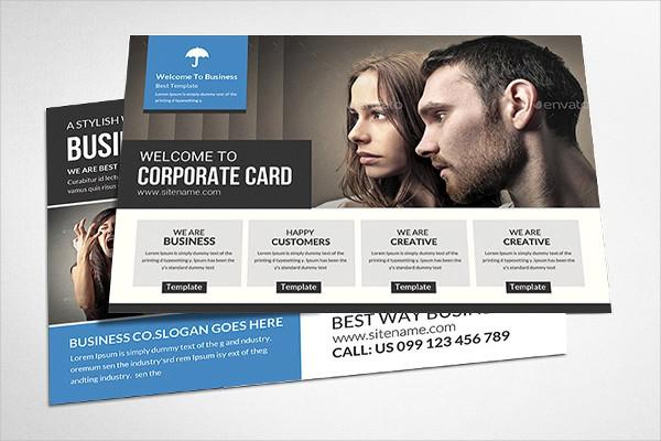 Multi Use Business Postcard Templates