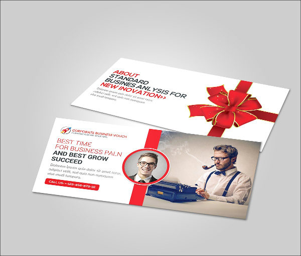 Multi Use Gift Voucher Card Template