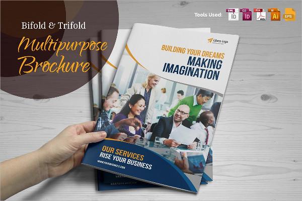 Multipurpose Bifold & Trifold Brochure