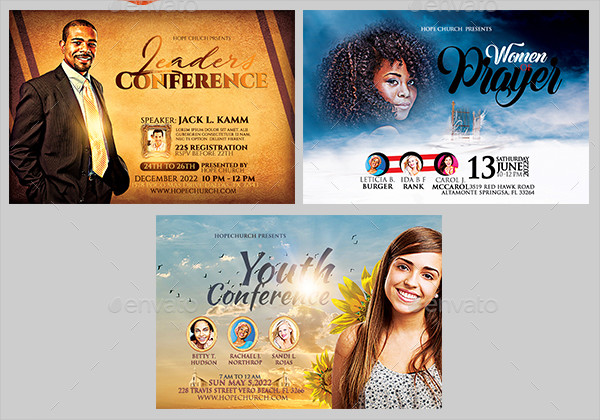 Multipurpose Church Flyers Bundle