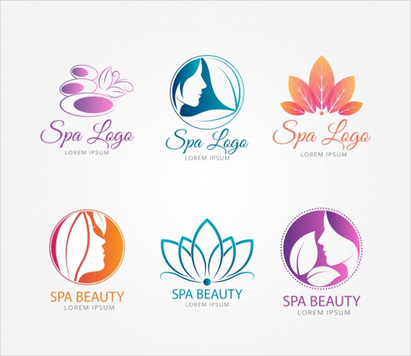 Nice Spa Logo Templates Free
