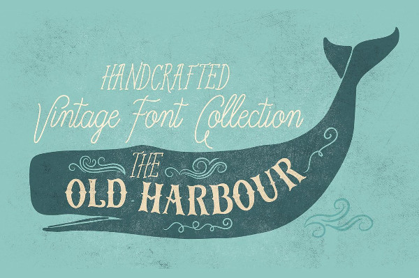Old Harbour Font Collection