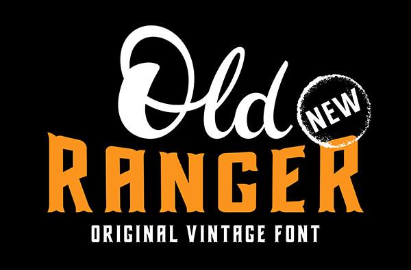 Old Ranger Western Font