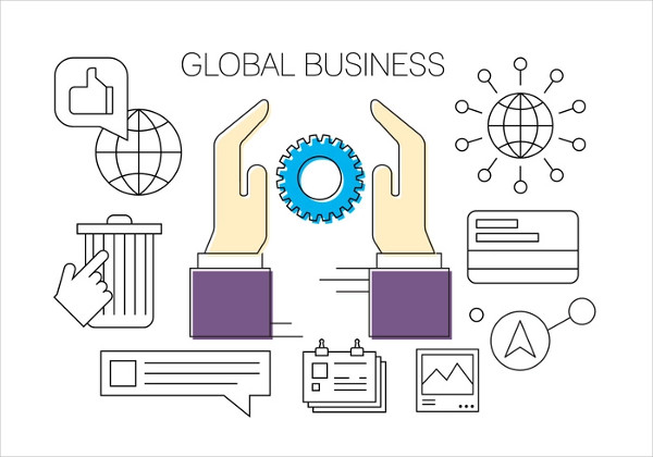 Free Icons for Global Business