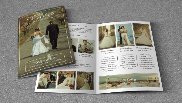 Photography Brochure Templates
