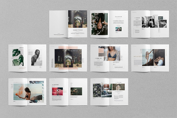 Awesome Design Photography Portfolio Brochure