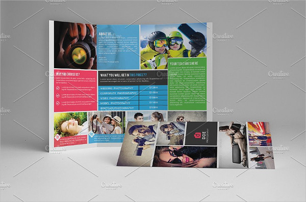 Photography Tri-Fold Corporate Brochure