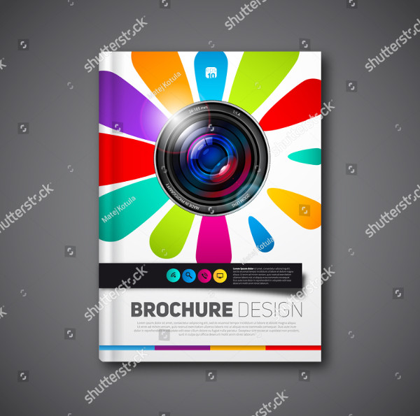 Photography Vector Design Brochure