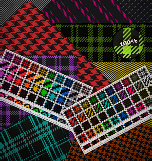 Photoshop Fabric Pattern Pack