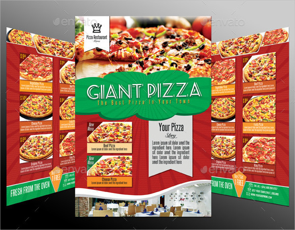 Pizza Design Template