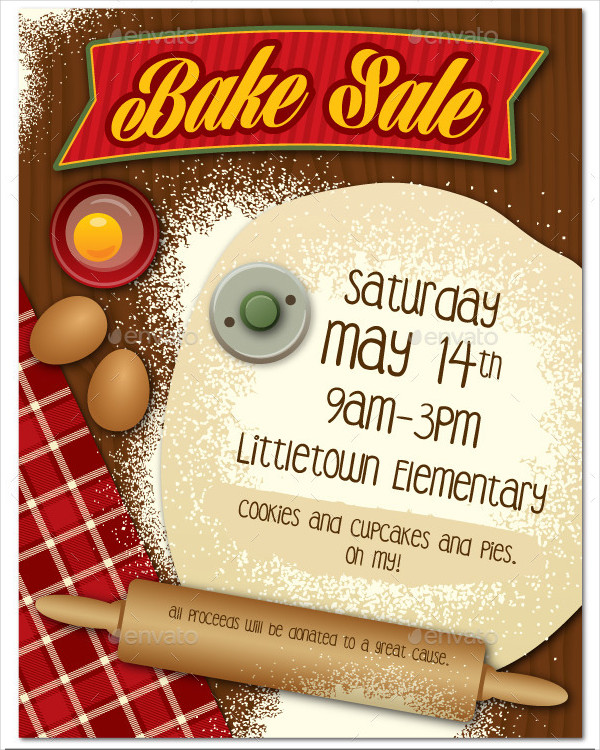 Popular Bakery Poster or Flyer Template