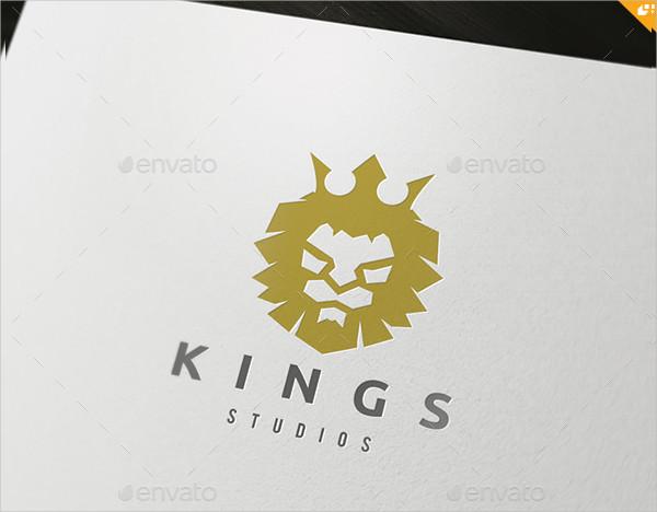 Popular Kings Logo Template