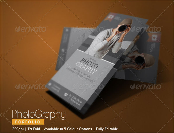 Fully Editable Photography Brochure