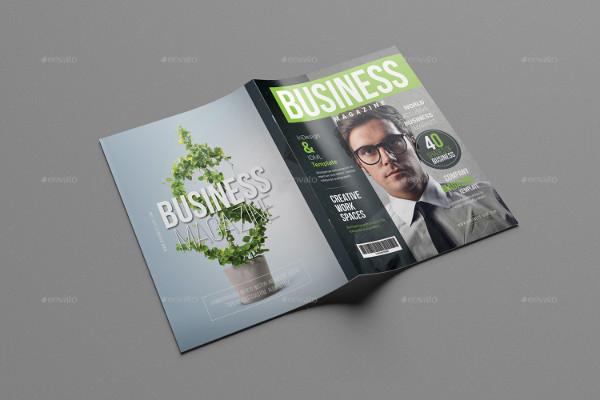 Print Ready Corporate Magazine Template