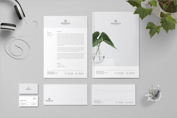 Printable Branding Identity Stationary Pack