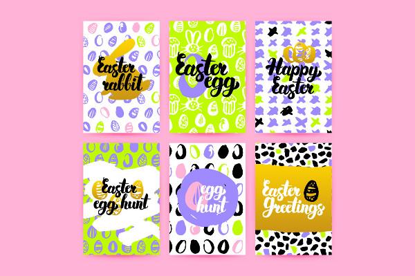 Printable Easter Greetings Posters