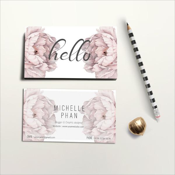 Printable Elegant Business Card Template