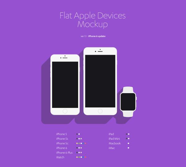 Printable Free Apple Device Mockup
