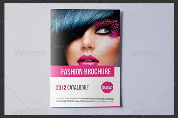 Professional Fashion Brochure Template