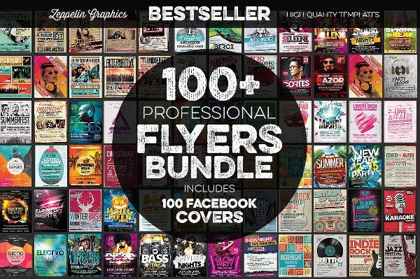 Professional Music Flyers Bundle