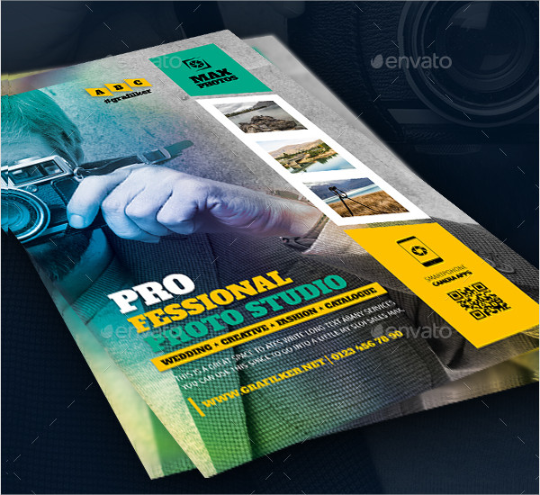 Professional Photo Studio Flyer Template