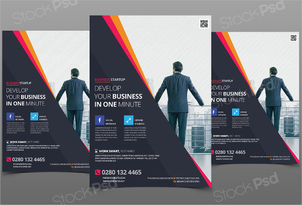 Business Free PSD Flyer Template