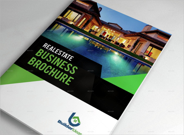 Real Estate Business Brochure Template