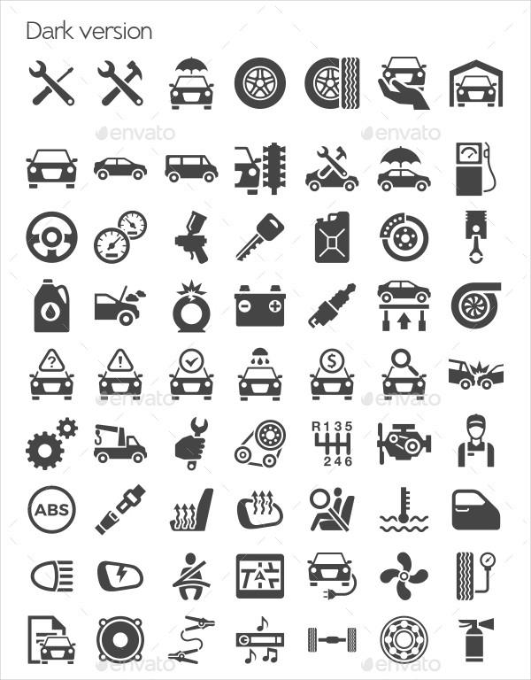 Best Car Repair Icons