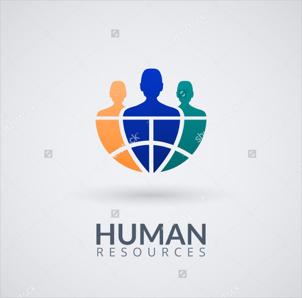 Human Resource Logo Template
