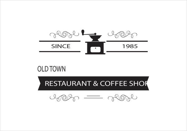 Free Restaurant & Coffee Shop Logo Templates