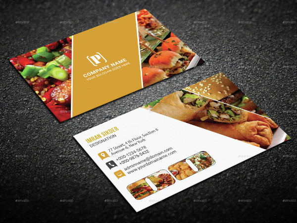 25 restaurant business card templates free premium download restaurant menu business card templates cheaphphosting Choice Image