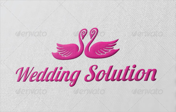 Wedding Solution Logo Template