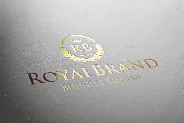 Royal Brand Fashion Logo Design