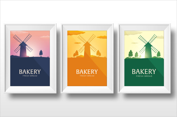 Rustic Bakery Banners and Posters