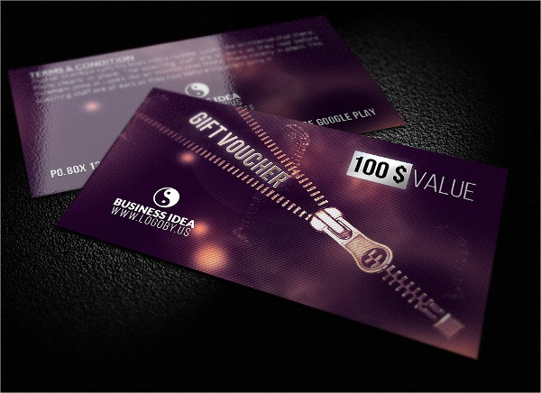 Gift Card Template for Business Companies