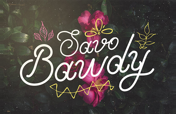 Handcrafted Cool Cursive Fonts