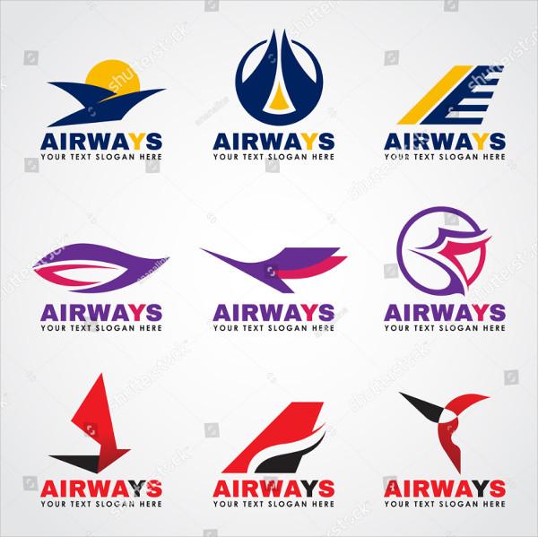 Set of Airway Logos Set