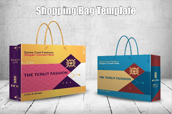 Shopping Bag Template