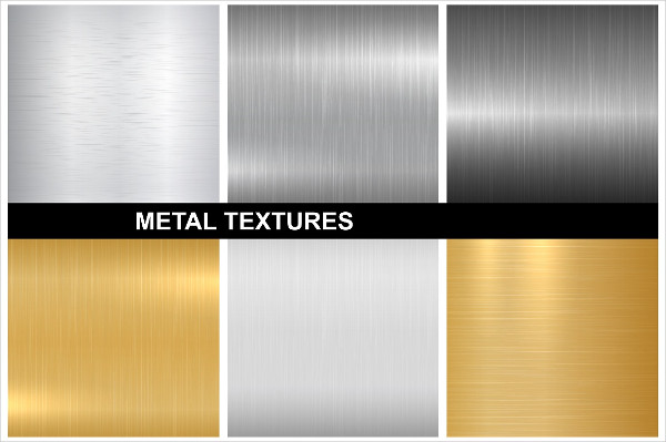 Silver and Gold Metal Textures