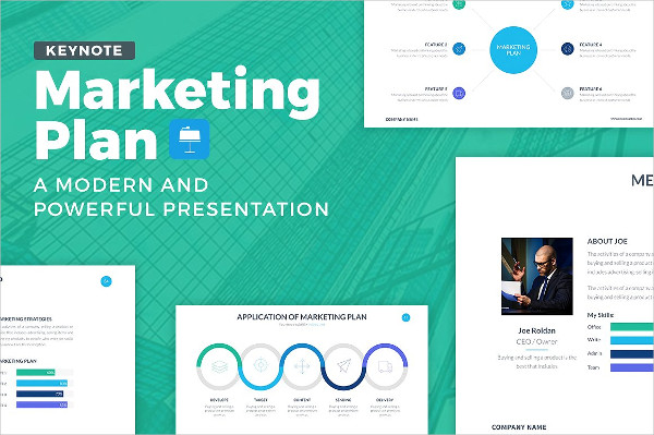 Marketing Plan Keynote Template