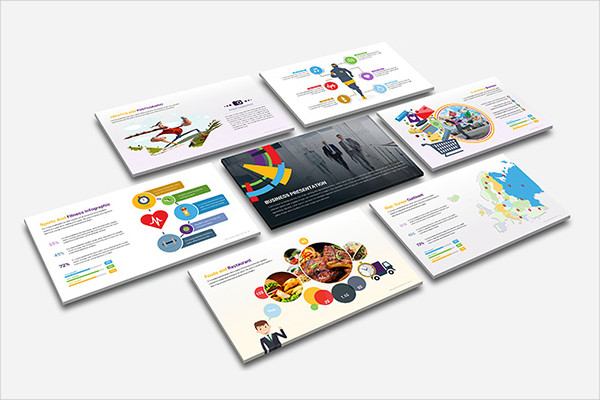 Smart Goals Business Planning Powerpoint Template