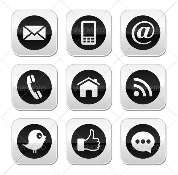 Social Media & Blog Buttons
