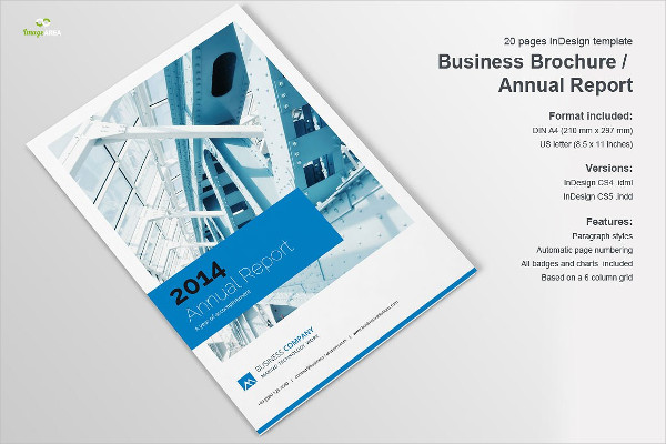 Business Statement Brochure Template