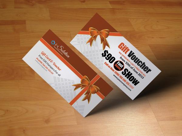 Stylish Business Gift Vouchers