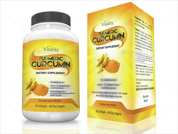 Supplement Label and Box Design