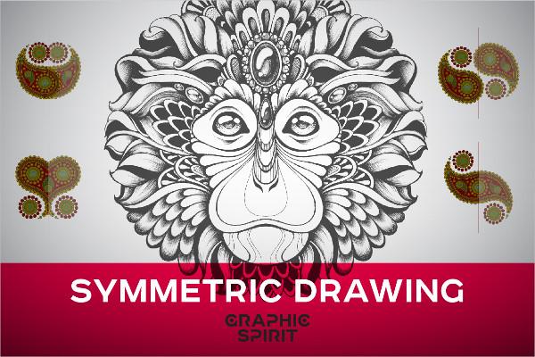 Symmetric Drawing Ai Templates