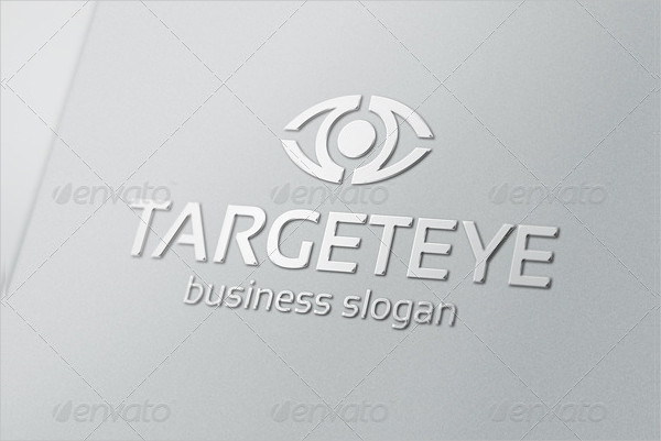 Target Eye Business Marketing Logo